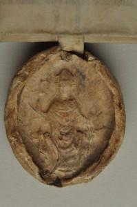 Fürstliches Archiv Rheda, Bestand: Stift Clarholz, Urkunden, Rha.C.Uk 5 (Siegel)