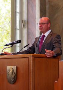Westfalen hilft Köln: Münsters Oberbürgermeister Markus Lewe