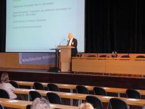 LWL Archivamt: Eröffnungsvortrag von Prof. Dr. Peter Drewek