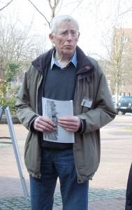 Vorsitzender des Vereins für Orts- und Heimatkunde Heinz Enxing
