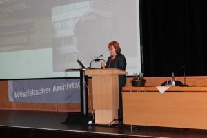 Frau Britta Günther, Stadtarchiv Chemnitz