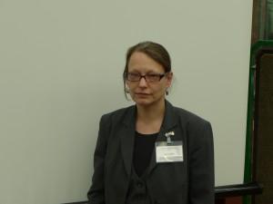 Frau Dr. Minneker auf dem Westfälischen Archivtag