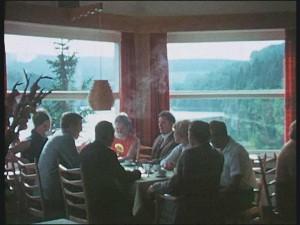 """...und gut essen.(Quelle: Film """"Rund um das Ebbegebirge"""")"""