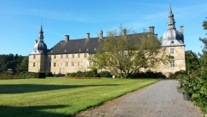 Schloss Lembeck bei herrlichem Herbstwetter
