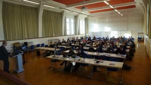Teil des Web 2.0 interessierten Publikums in Siegen