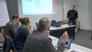 Der Workshop von Jan Gräfe beschäftigte sich mit Controlling