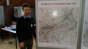 Plakatwand III: Das Straßennetz in Westfalen-Lippe 1975