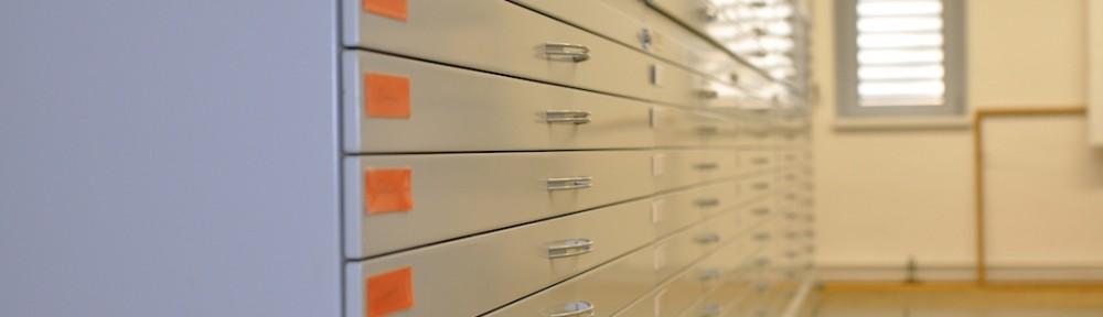 Neuordnung der Kartensammlung des Archivs LWL