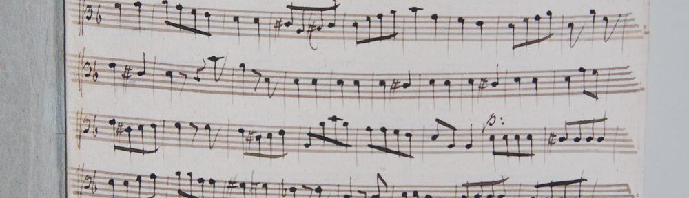Zum Internationalen Tag der Archive: Aus der Musikaliensammlung in Berleburg #archivesrock #IAD16