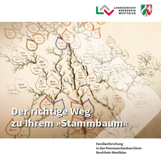 Titelblatt der Bröschüre des LAV