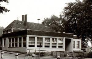 Die sanierte Gaststätte im Charme der 60er Jahre
