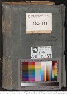 LWL-Archivamt für Westfalen, Archiv LWL Best. 102/111