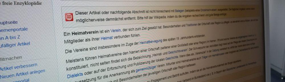 Archivquellen einheitlich in der Wikipedia verlinken