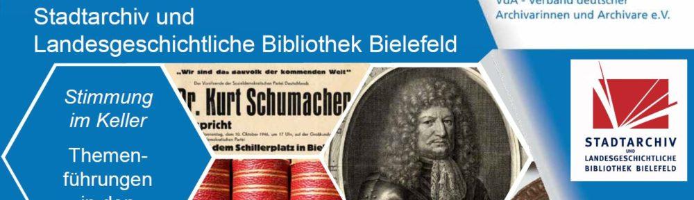 Tag der Archive 2018 im Stadtarchiv Bielefeld