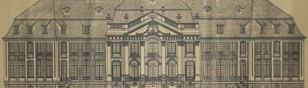 Jubiläum zum 75-jährigen Bestehen des Westfälischen Denkmalamtes am 24. Juni 1968 im Münsteraner Erbdrostenhof