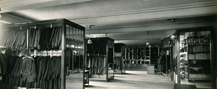 Das Paderborner jüdische Kaufhaus Herzheim im Bild