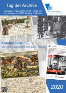 Plakat TdA 2020 Münster